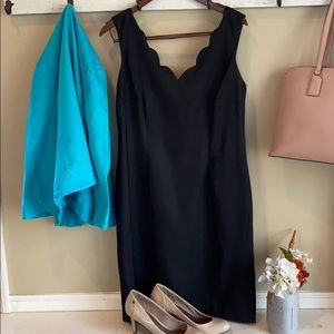 Connected Apparel Black Dress Size 12